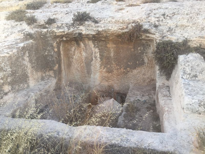 Other nearby rock-cut tombs