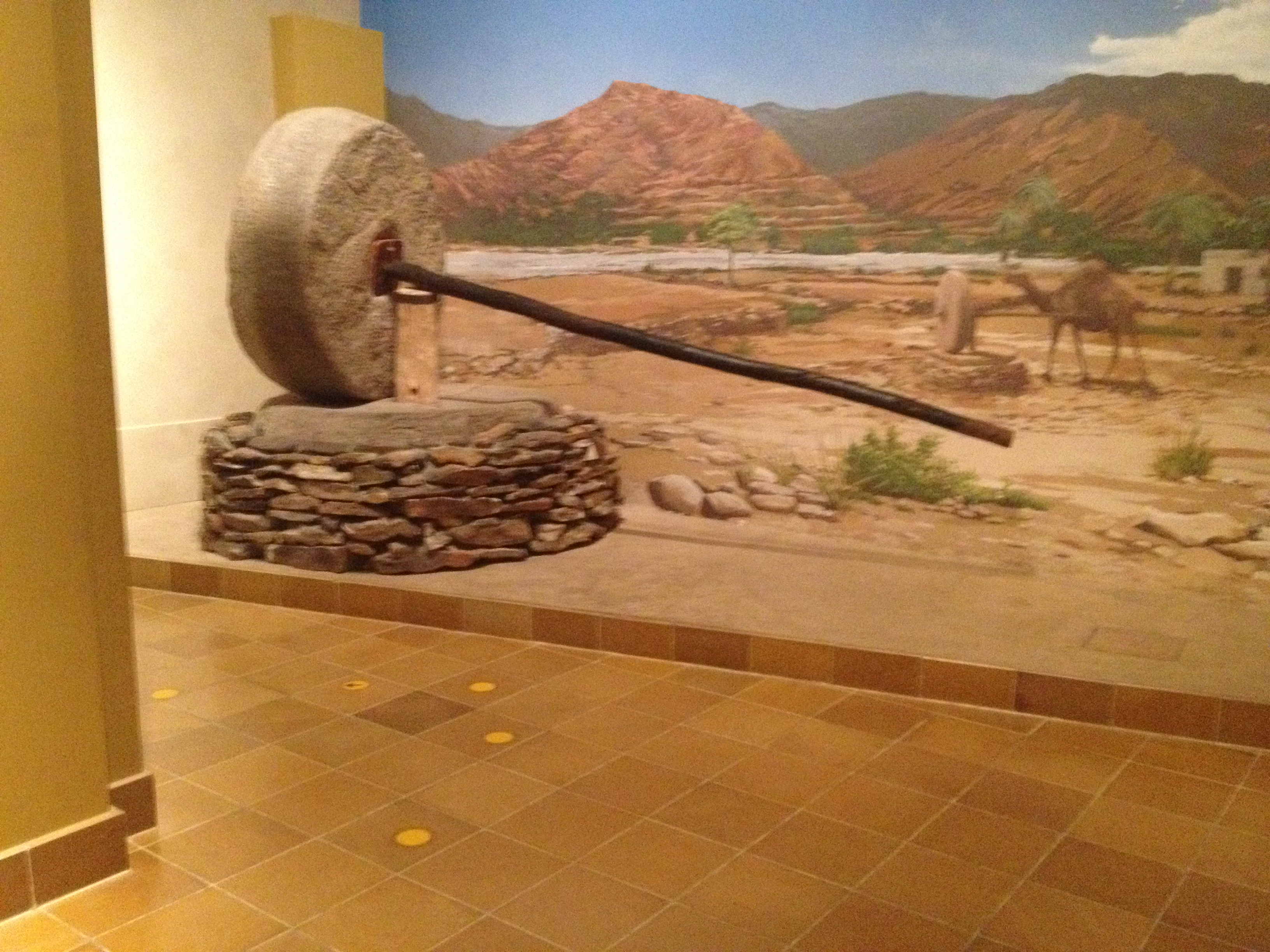 Grinder from Al-Ukhdoud in the Najran Museum